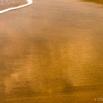 Clouds Reflecting on Wet Sand - Ixtapa, Mexico 2014