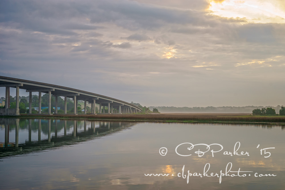 Thunderbolt Bridge - Intracoastal Waterway, Thunderbolt, Georgia