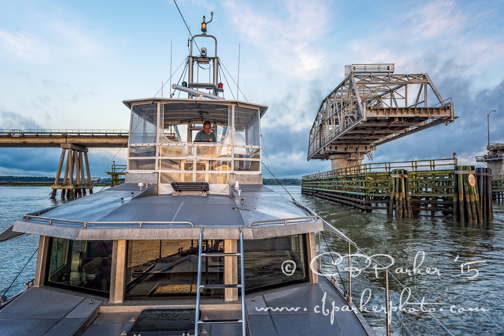 Avatar Passing Through - Intracoastal Waterway, Beaufort, South