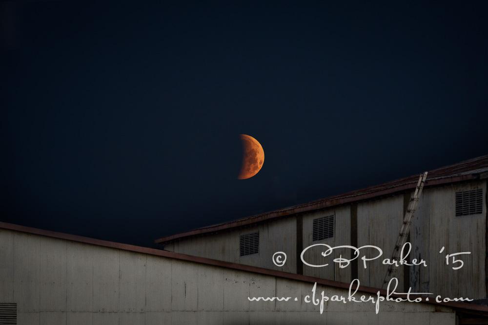 Industrial Eclipse - Titusville, Florida 2015