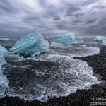 Black Sand, Blue Ice - The Ice Beach, Iceland 2015