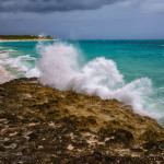 Abaco Beach on a Windy Day